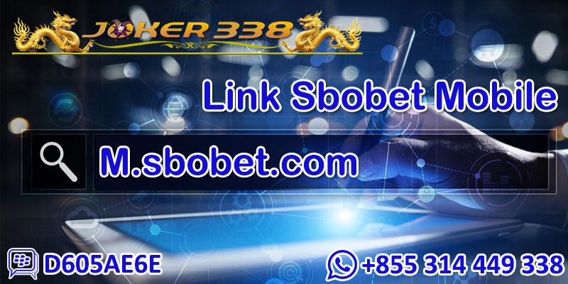 Link Sbobet Mobile